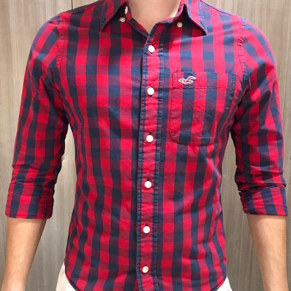 Camisa social hollister masculina