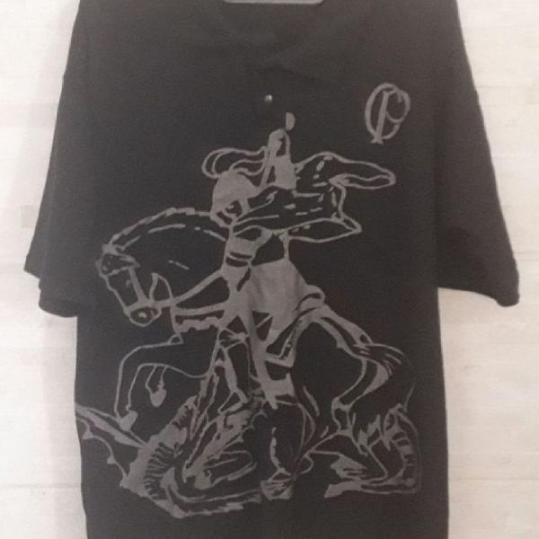 Camiseta polo masculina corinthians
