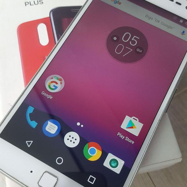 Motorola moto g4 plus 32gb dual chip tela 5.5 biometria