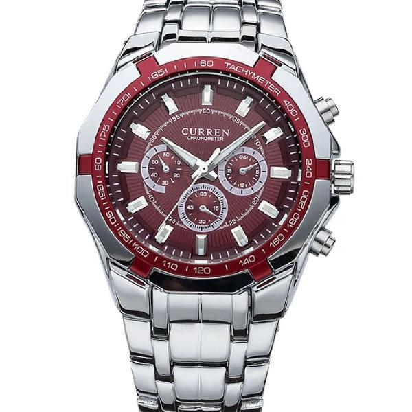 Relógio curren masculino-novo