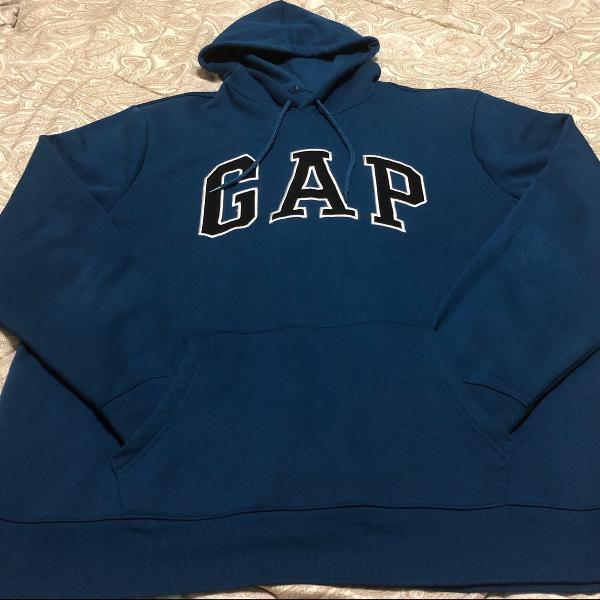 Blusão de moletom marca gap