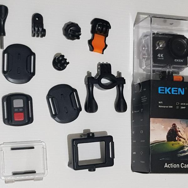 Camera de ação 4k wi fi eken h9r
