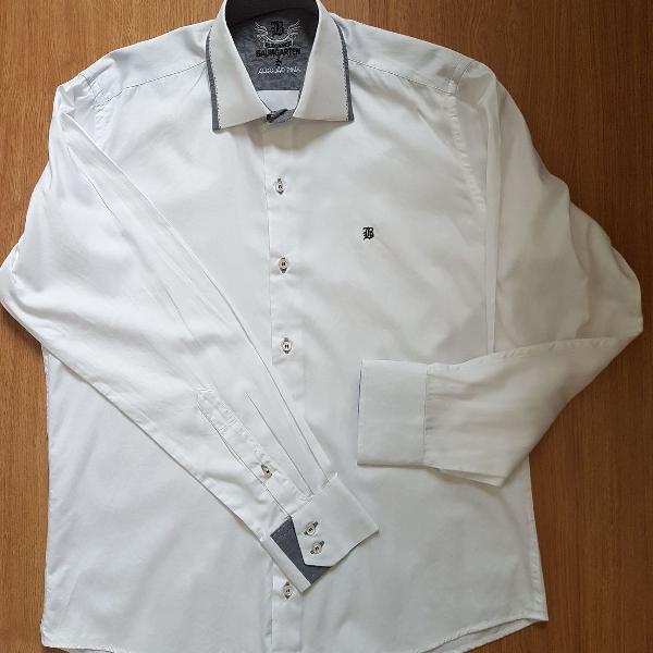Camisa algodão pima