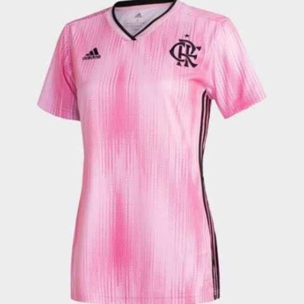 Camisa flamengo feminina outubro rosa