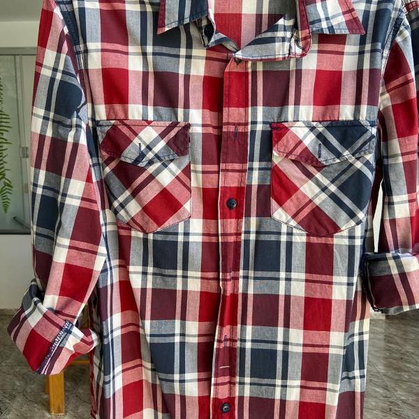 Camisa xadrez hering