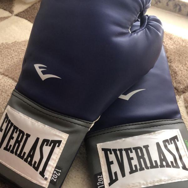 Luvas de boxe everlast pró style training - 12 oz -
