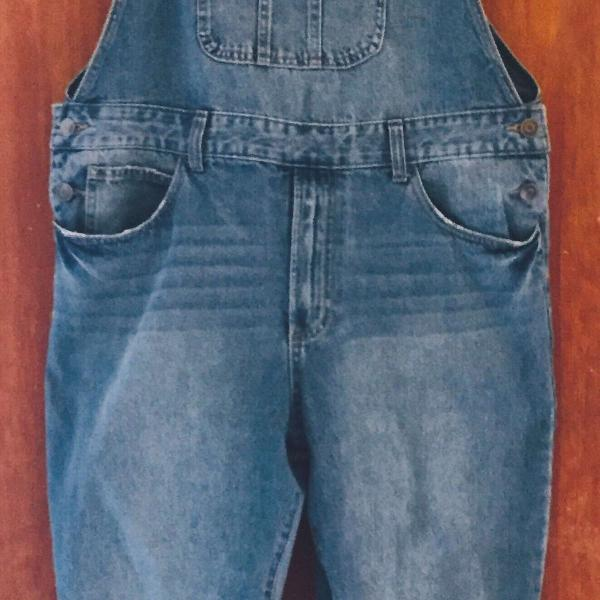 Macacão jeans azul