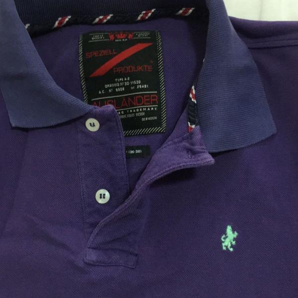 Polo auslander edição limitada. camisa numerada n 247