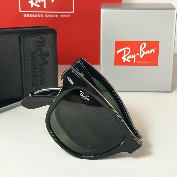 Rayban rb4105 óculos de sol wayfarer dobravel tamanho
