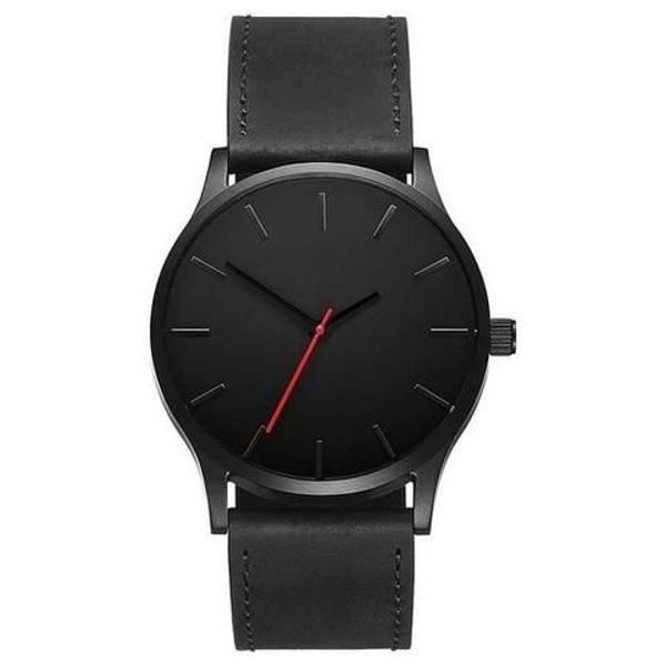 Relógio masculino estilo minimalista