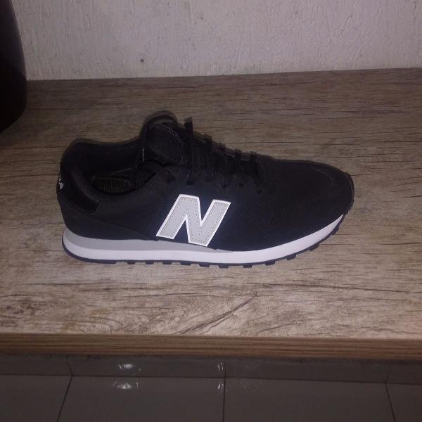 Tênis new balance ms574 (preto e branco)