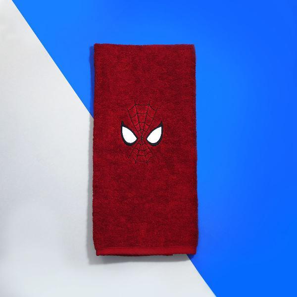 Toalha de rosto homem aranha