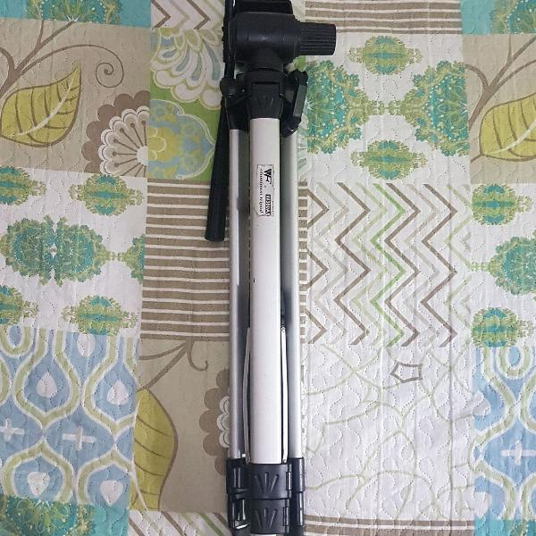 Tripé câmera profissional w360a aluminio