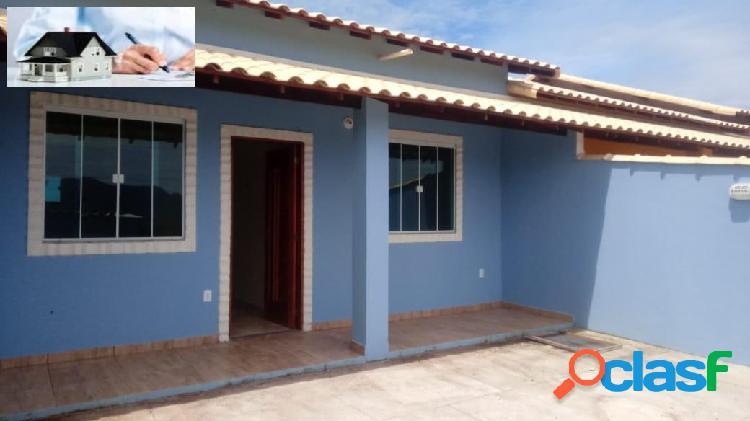 Casa 02 dormitórios-ponta negra/maricá-rj
