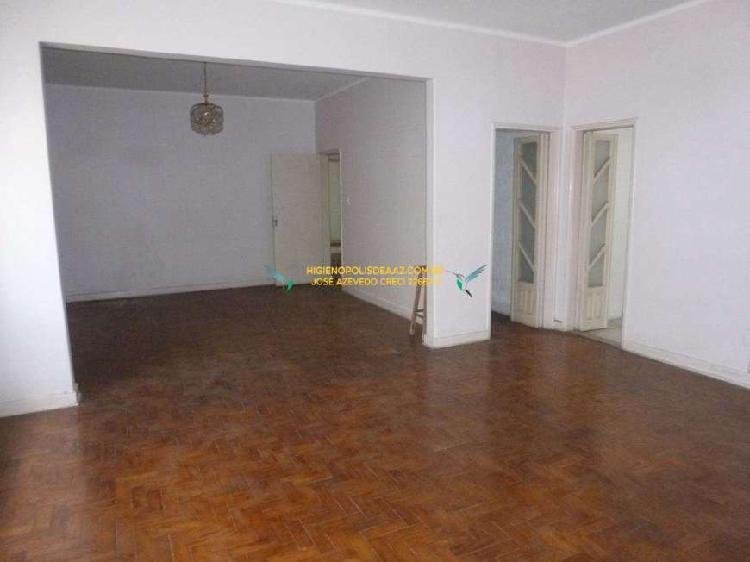 Apartamento com 195m², Higienópolis, São Paulo.