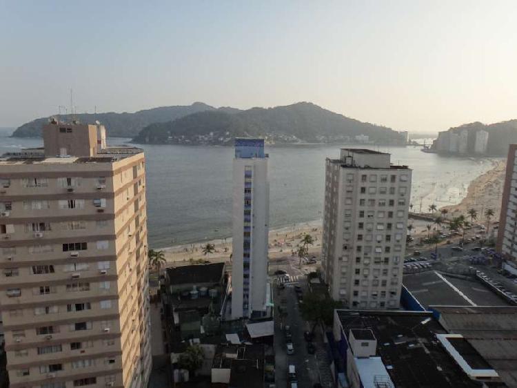 Apartamento de 01 dormitório com vista para o mar