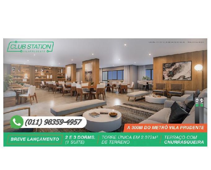 Club station vila prudente | 63 a 91m² (1 suíte) torre
