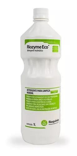 Detergente enzimatico riozyme eco 1 lt - rioquímica