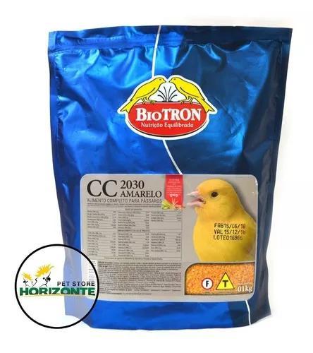 Farinhada cc 2030 amarela - 1kg - biotron