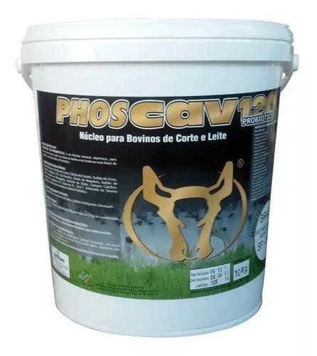 Phoscav 120 probiótico 20 kg núcleo p/ mistura agrocave