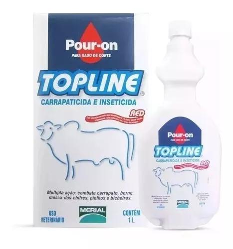 Pour-on top line 1 litro - carrapaticida bernicida
