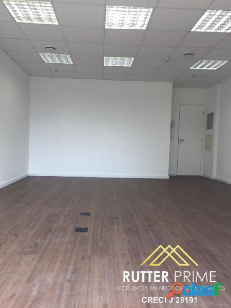 Sala comercial venda, locação, 44 m², 1 vaga, na chácara santo antonio