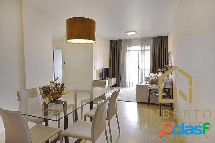 Apartamento mobiliado 3 quartos disponível para venda no bairro fortaleza