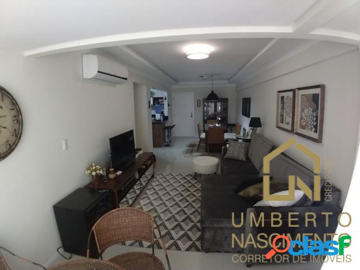 Lindo apartamento mobiliado e equipado com 3 quartos em balneário camboriú