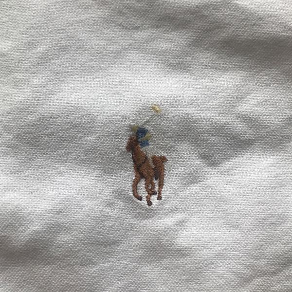 3 camisa social original ralph lauren gg 17 1/2