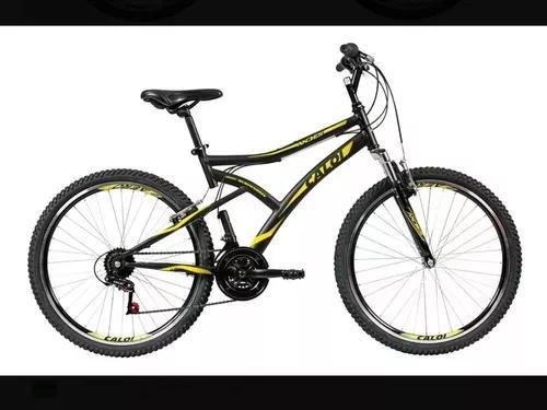 Bicicleta aro 26 - andes mountain bike preta - caloi