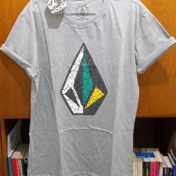 Camiseta cinza volcom