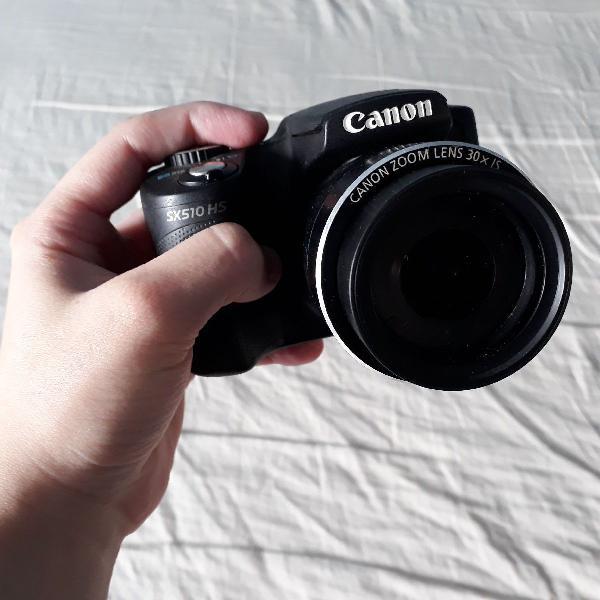 Câmera canon powershot sx 510hs