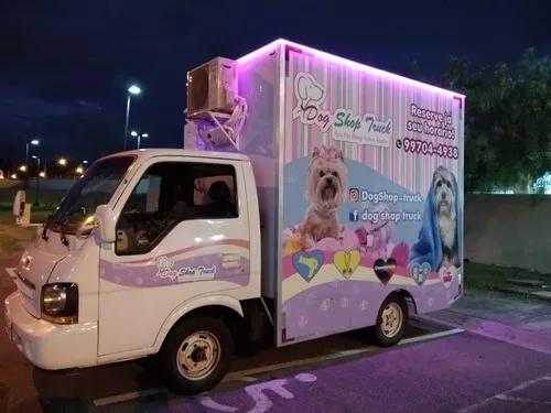 Dog shop truck! seu pet shop sobre rodas