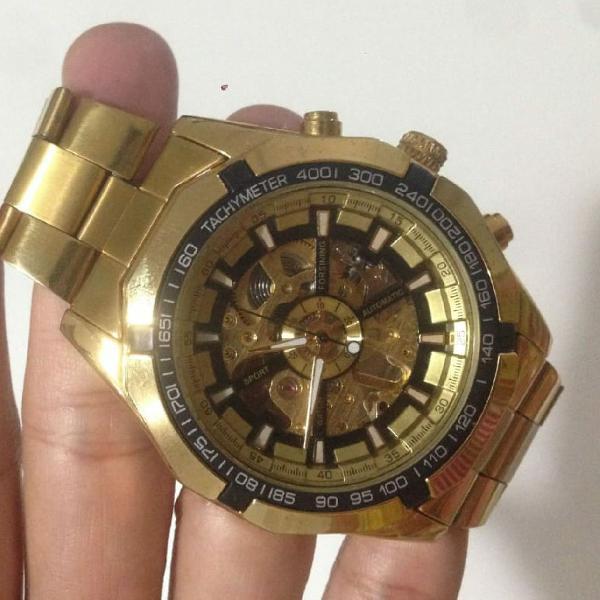 Relógio winner forsining automático