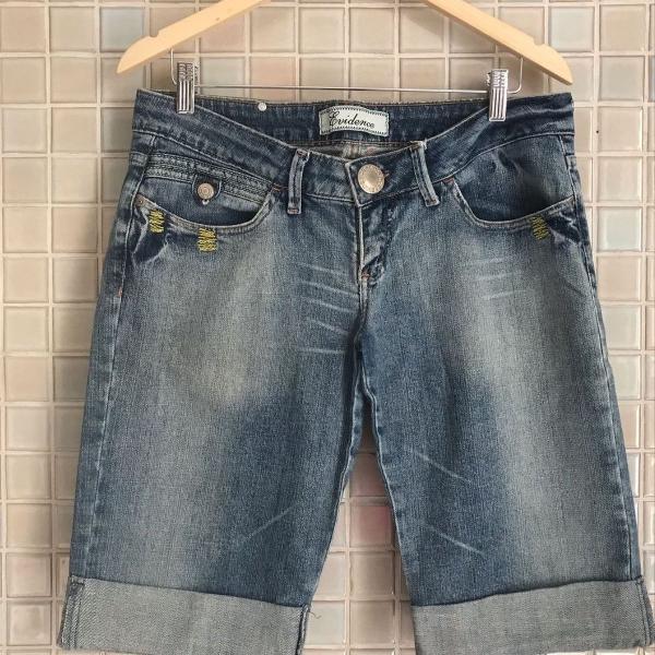 Bermuda jeans feminina evidence