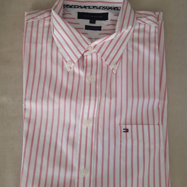 Camisa clássica masculina tommy hifiger