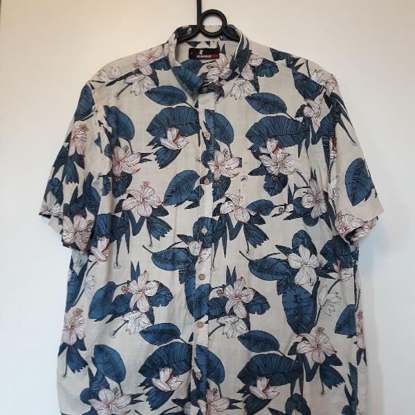 Camisa florida masculina
