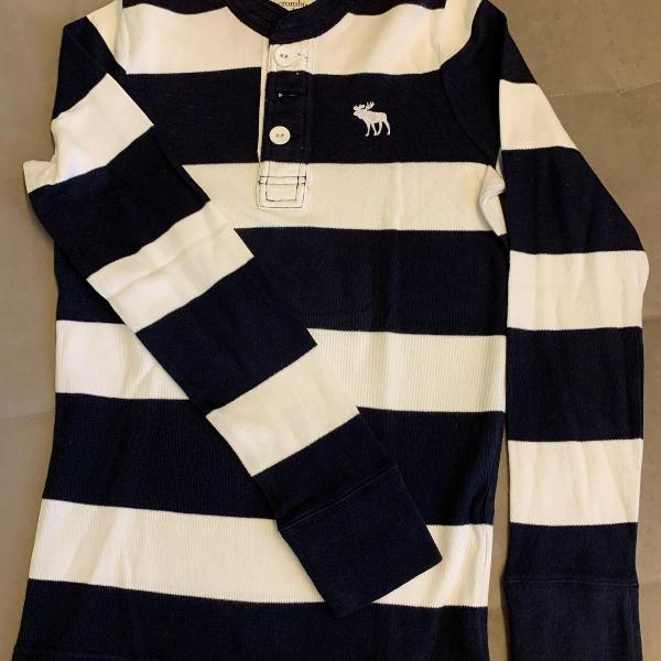 Camisa polo abercrombie manga comprida