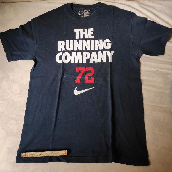 Camiseta nike original l azul marinho pouco usada