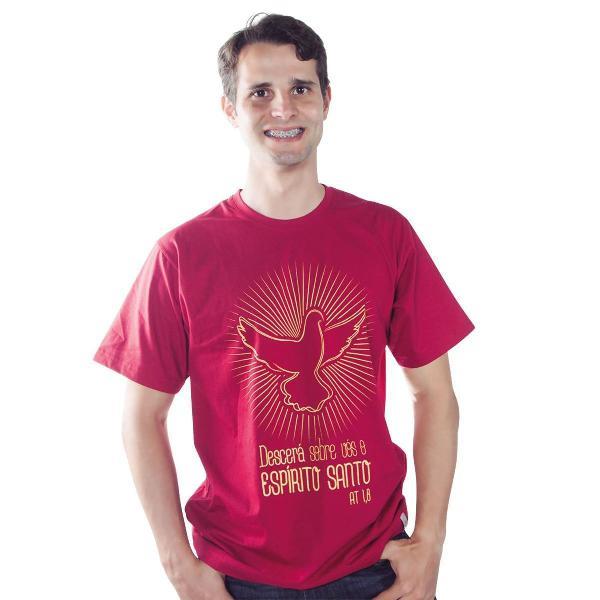 Camiseta descerá sobre vós o espírito santo