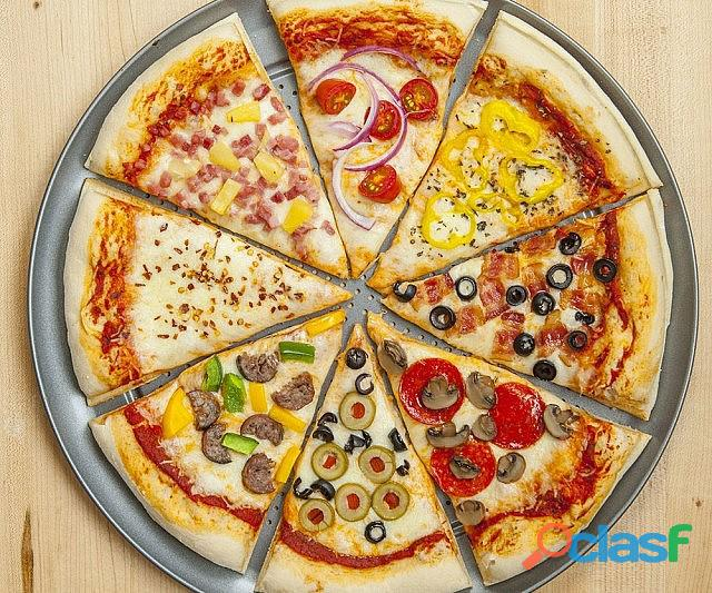 Franquia de pizzas marca renomada em santo andré.
