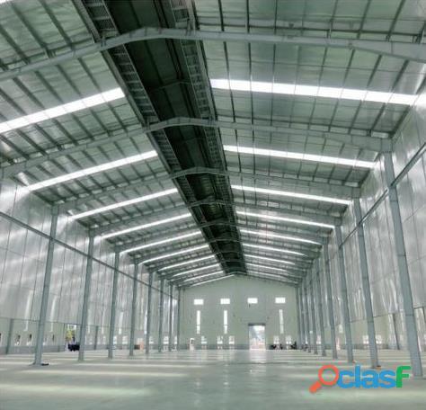 Galpão de Aço Galvanizado 300m2 Importado da China