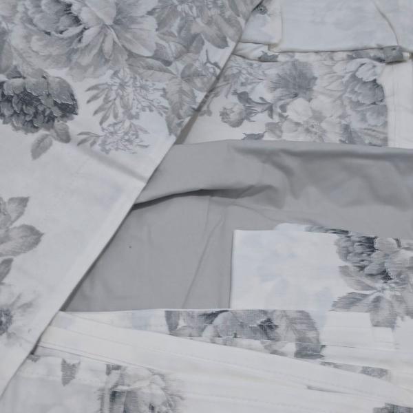 Jogo de lençol queen com 4 peças 200 fios- no site custa
