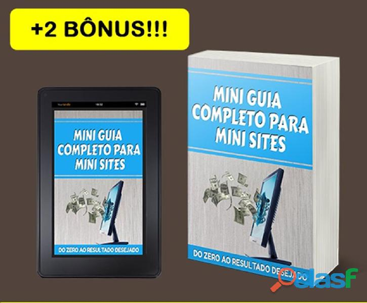 Mini Guia Completo Para Mini Sites