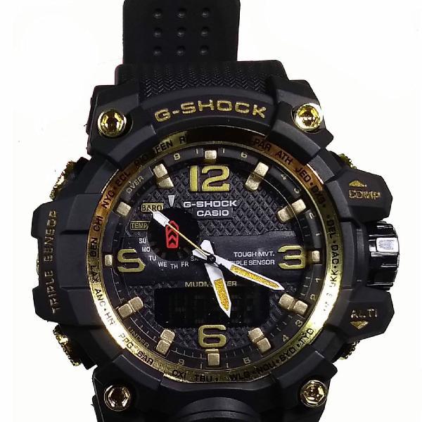 Relógio g-shock mudmaster esportivo resistente a água