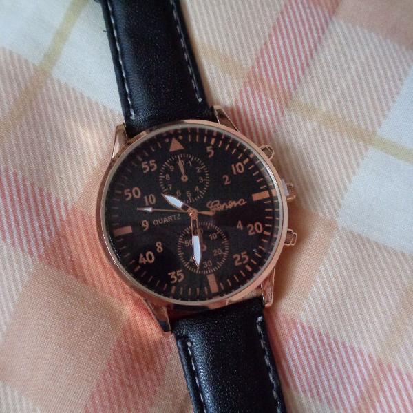 Relógio de pulso masculino horloges mannen
