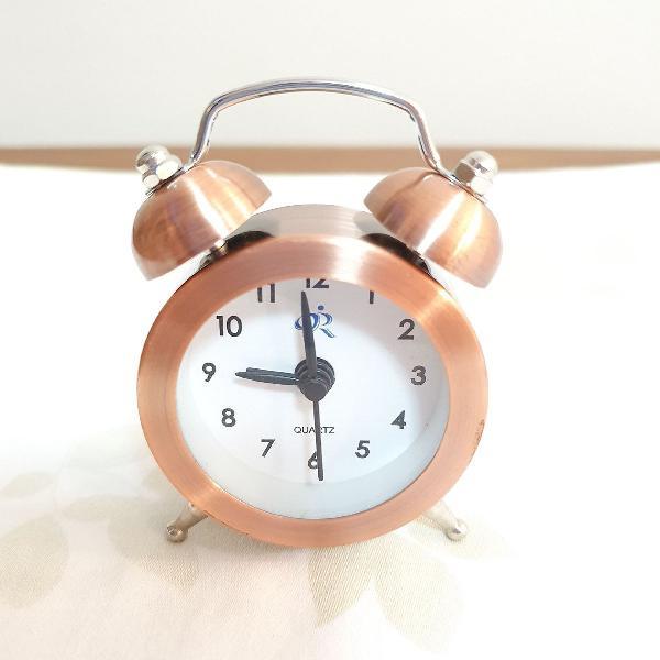 Relógio despertador vintage