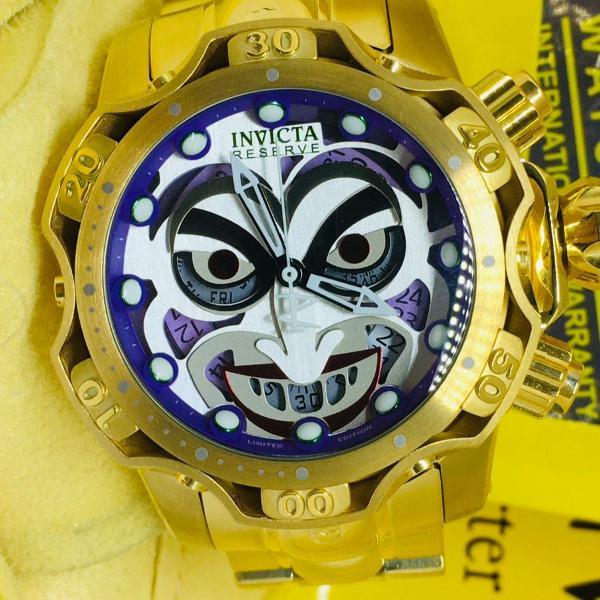 Relógio invicta joker