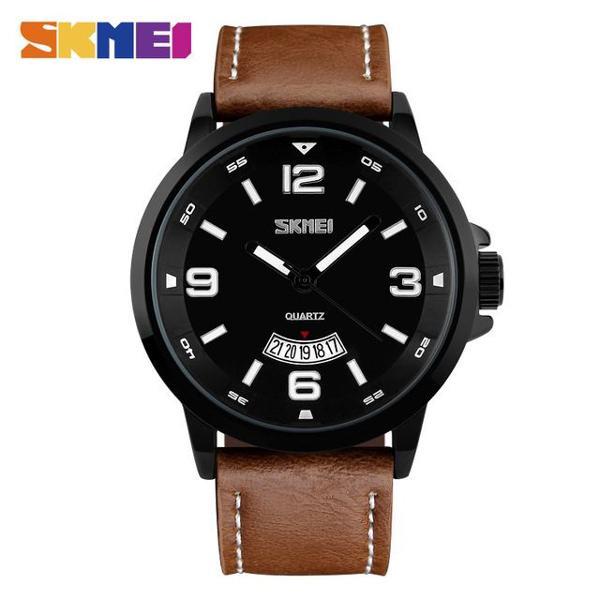 Relógio masculino analógico skmei 9115 original