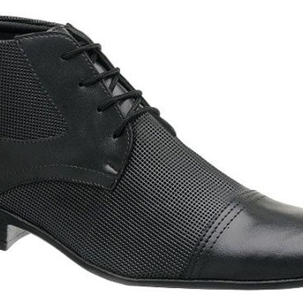 Sapato 43 couro sintético preto 1081